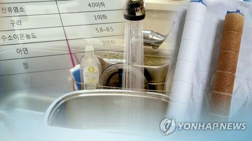 '붉은 수돗물' 인천에 수도권 소방차 30대로 생활용수 지원