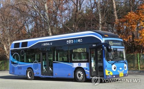 '수소전기버스 시대' 본격화…현대차, 신형 양산 1호차 공개