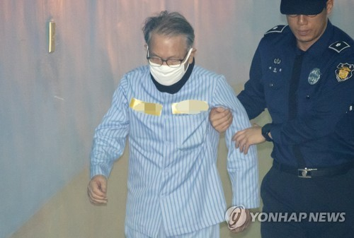 '세월호 보고시간 조작' 김기춘 징역 1년6월 구형