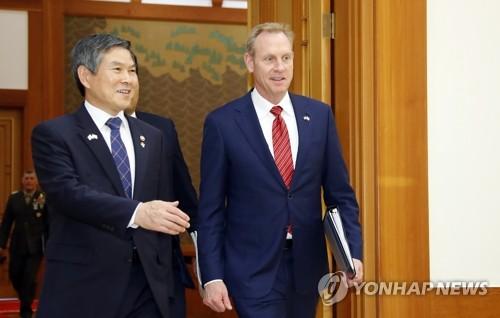 """'전작권 전환' 빨라지나…한미국방 """"조건 충족에 상당한 진전"""""""