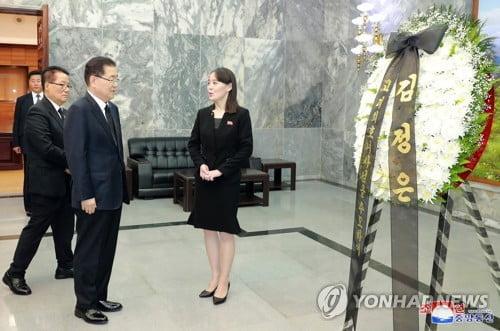 이희호 여사 유가족, 김정은 위원장 조의에 사의 전달