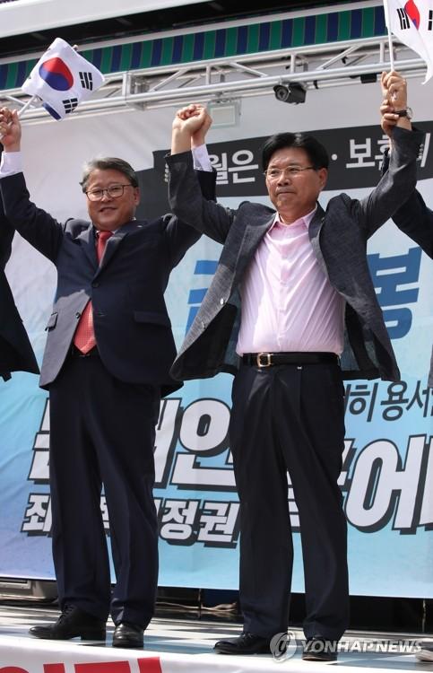 홍문종, 내주 초 한국당 탈당…대한애국당 공동대표 추대