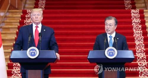 """트럼프 """"저와 김정은 많은 분노 있었지만 지금 사이 좋아져"""""""