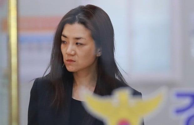 한진칼 이사회를 통해 한진그룹에 복귀하는 조현민 전무. 사진=연합뉴스