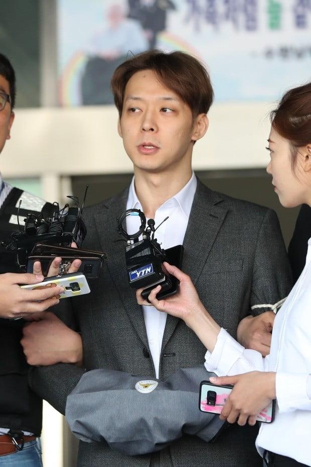 마약 혐의로 구속 기소된 박유천/사진=연합뉴스