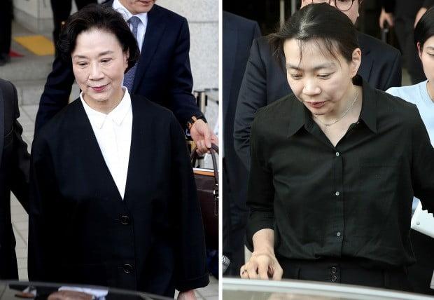 조현아 이명희 모녀 / 사진=연합뉴스