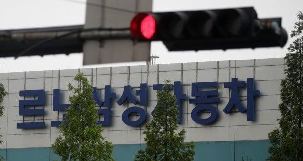 부산 강서구 르노삼성자동차 부산공장 모습.(사진=연합뉴스)