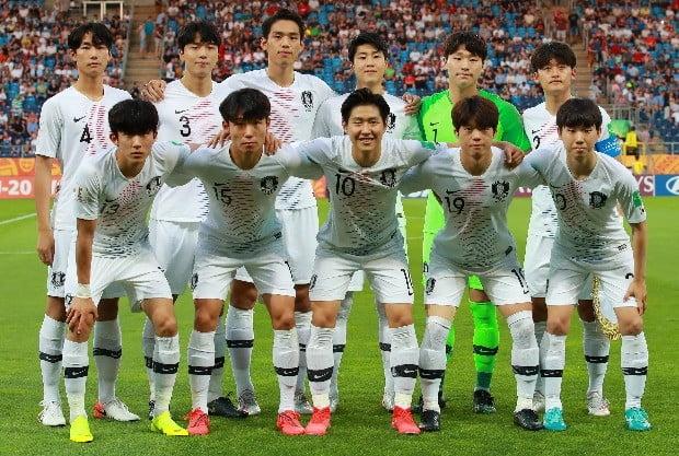 한국 U-20 대표팀 4강 선발 출전 선수.(사진=연합뉴스)