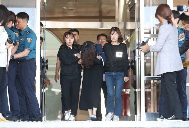 전남편 살해 혐의를 받고 있는 고유정 검찰 송치 (사진=연합뉴스)