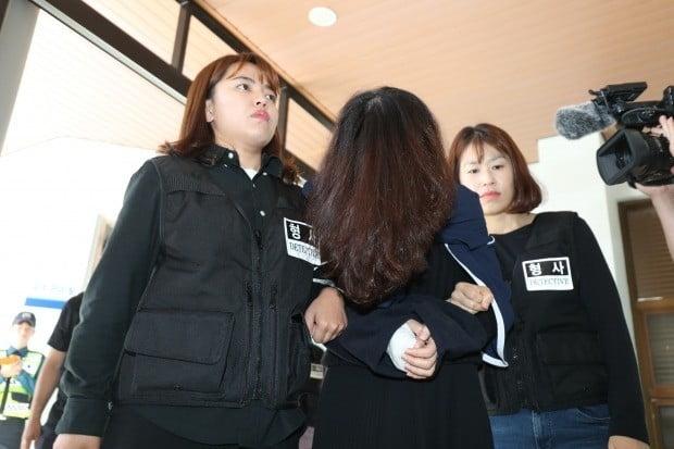 제주 전 남편 살해 사건 피의자 고유정.(사진=연합뉴스)