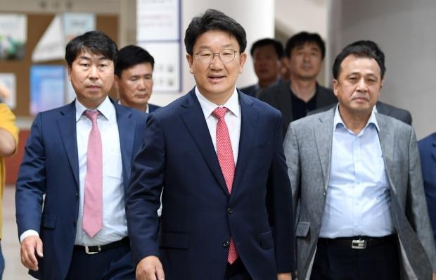 강원랜드 채용비리 의혹을 받는 자유한국당 권성동 의원이 1심에서 무죄를 선고 받았다. 사진=연합뉴스