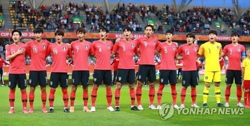 """""""U-20 축구대표팀에 병역혜택""""…병무청 """"검토한 바 없다"""""""