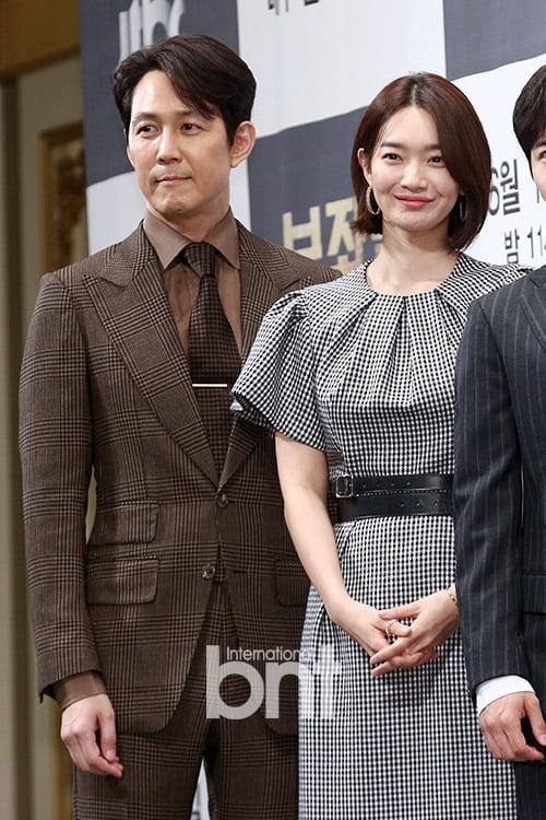 [bnt포토] 이정재-신민아 '보좌관과 국회의원'