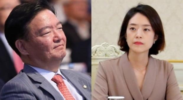 민경욱과 고민정/사진=연합뉴스