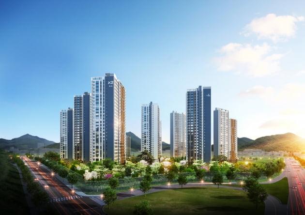 GS건설, '광주역 자연&자이' 이달 분양 예정