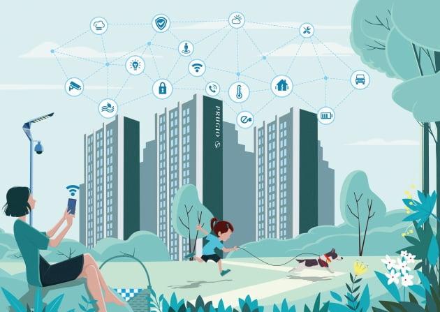 대우건설, 스마트홈에서 '스마트 단지'로 플랫폼 확장