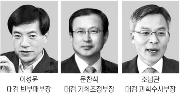 '소윤' 지고 이성윤·문찬석·조남관 급부상