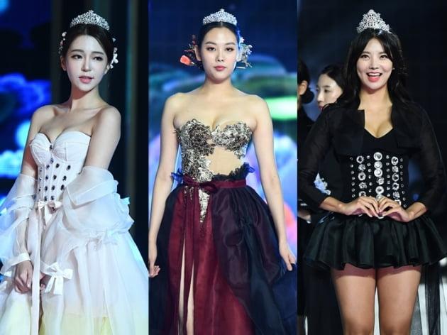 2019 미스코리아 코르셋+한복 무대 /사진=변성현 기자