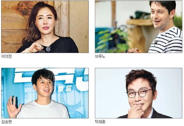 이의정·브루노·김승현·탁재훈…아픔 딛고 돌아온 왕년의 '청춘스타'들