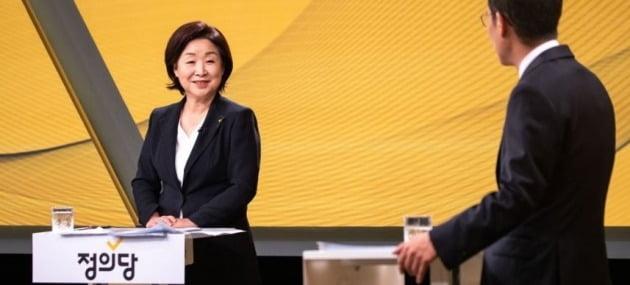 정의당 심상정 신임 대표 [연합뉴스 자료사진]