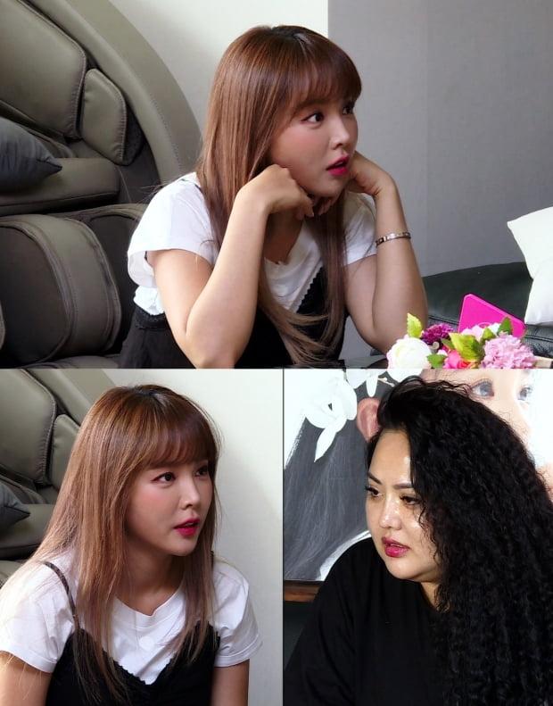 '미우새'홍진영-홍선영 자매/사진=SBS 제공