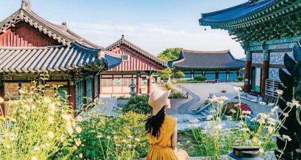 대구 팔공산 올레길 3코스에 있는 부인사. 한국관광공사 제공
