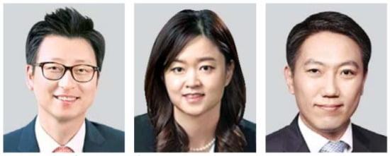 이진국 율촌 변호사·노미은 태평양 변호사·서태용 세종 변호사