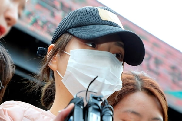 황하나/사진=연합뉴스