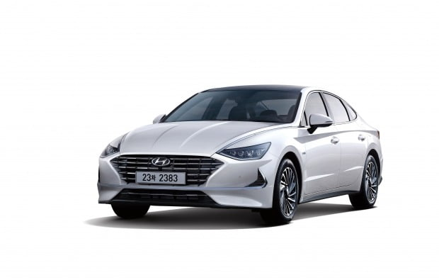 현대자동차 연비 201kml 쏘나타 하이브리드 출시 한경닷컴