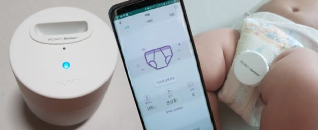 삼성 출신 초보아빠 6명이 만든 '모닛 스마트 기저귀 알람'