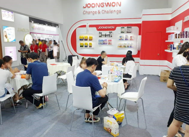 중원주식회사 아시아 최대 규모 중국 상해 육아박람회 성황리 마무리