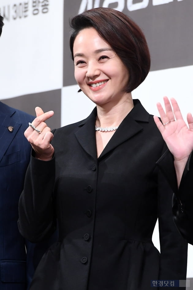 [포토] 배종옥, '아름다운 손가락 하트~'