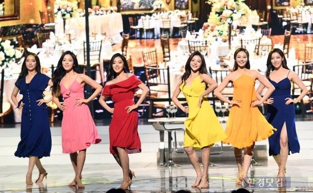 [포토] '미스코리아 후보들의 아름다운 공연' (2019 미스코리아)