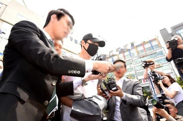 강지환 성폭력 혐의 영장실질심사 이동 /사진= 최혁 기자