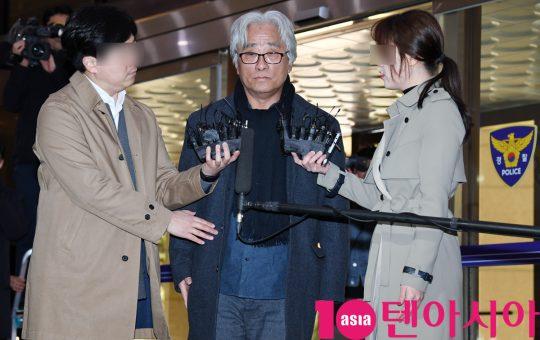 극단 단원들에 대해 성폭력을 가했다는 의혹을 받은 연극 연출가 이윤택./ 텐아시아 DB
