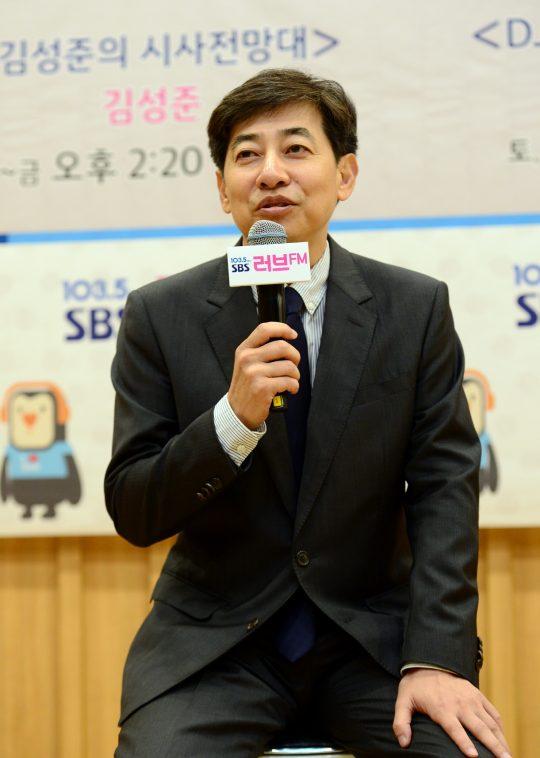 김성준 전 SBS 앵커. /사진제공=SBS