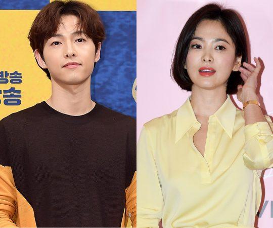 배우 송중기(왼쪽), 송혜교 / 사진=텐아시아DB