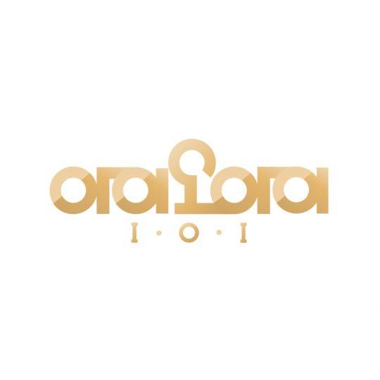 그룹 아이오아이 공식 로고 / 사진제공=스튜디오 블루, 스윙 엔터테인먼트