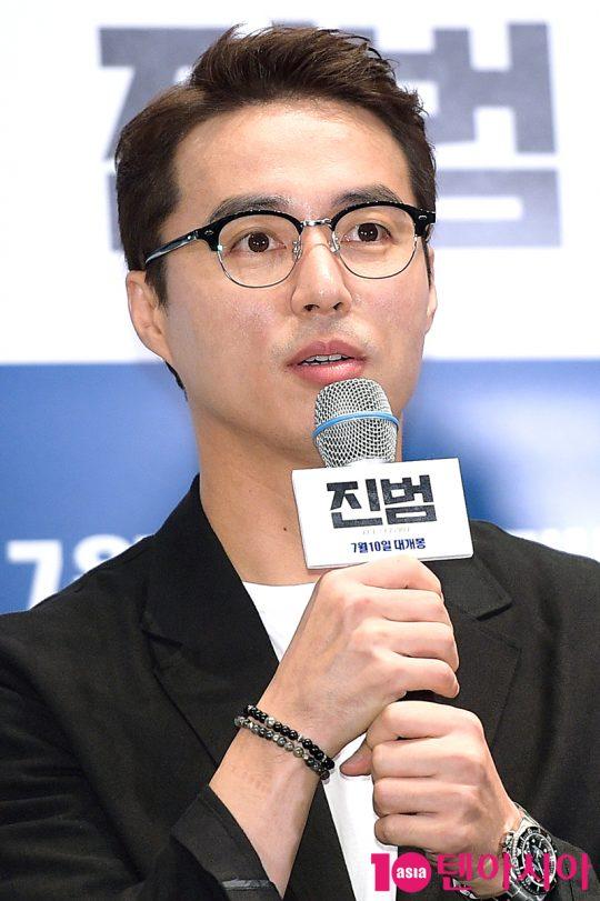 친구 아내를 살해한 용의자가 된 준성 역의 배우 오민석. /서예진 기자 yejin@