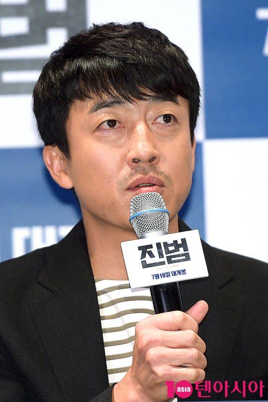 사건을 풀 열쇠를 쥔 목격자 상민 역의 배우 장혁진. /서예진 기자 yejin@