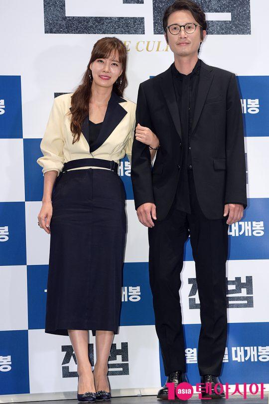 배우 유선, 송새벽