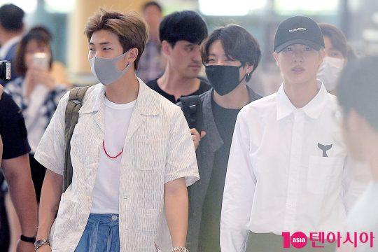 방탄소년단 RM, 정국, 진