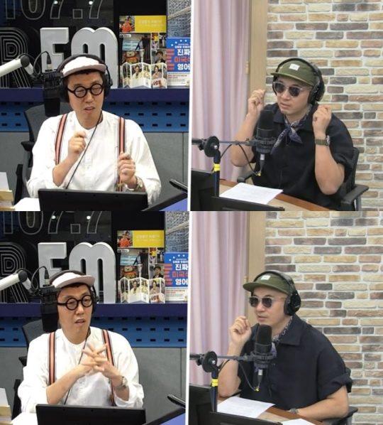 '철파엠' 김영철-구준엽./ 사진=SBS 보이는 라디오