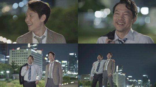 '보좌관' 이정재, 정진영 / 사진= JTBC 방송 화면 캡처