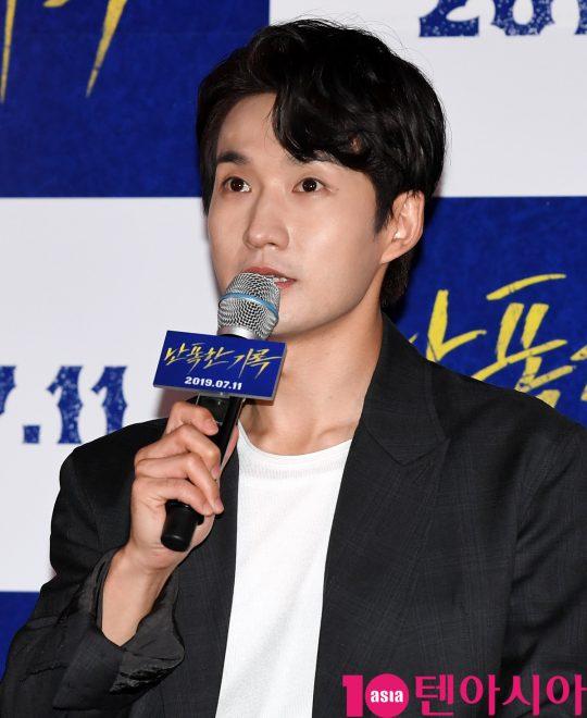 배우 류덕환이 8일 오후 서울 CGV 용산아이파크몰점에서 열린 영화 '난폭한 기록' 언론시사회에 참석했다./ 조준원 기자 wizard333@