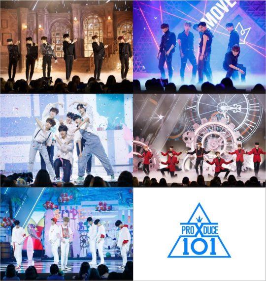 '프로듀스 X 101' 콘셉트 평가 무대 사진./사진제공=Mnet