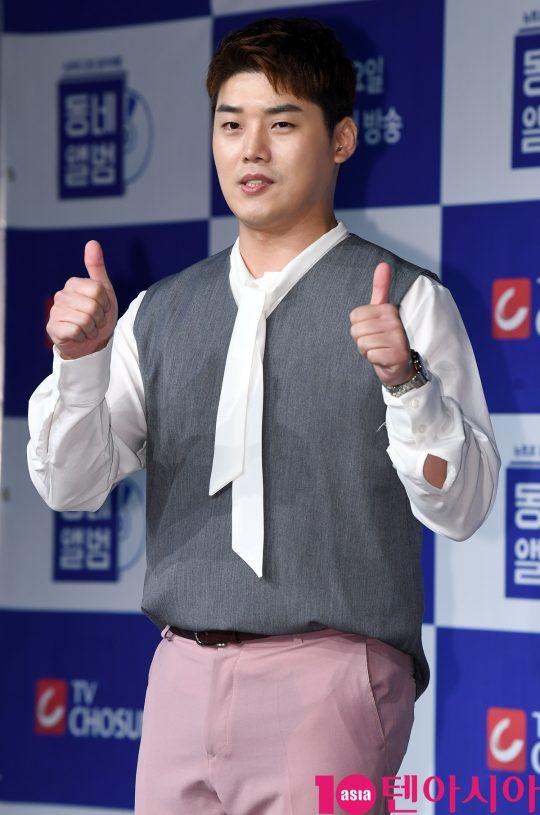 '동네앨범'의 분위기 메이커인 배우 권혁수. /조준원 기자 wizard333@