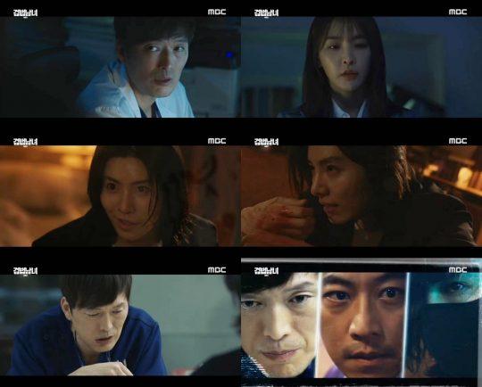 '검법남녀 시즌2 ' 정재영, 노민우 / 사진=MBC 방송화면 캡처