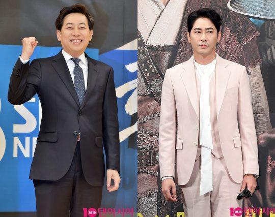 김성준 SBS 전 앵커- 배우 강지환./ 사진=텐아시아DB