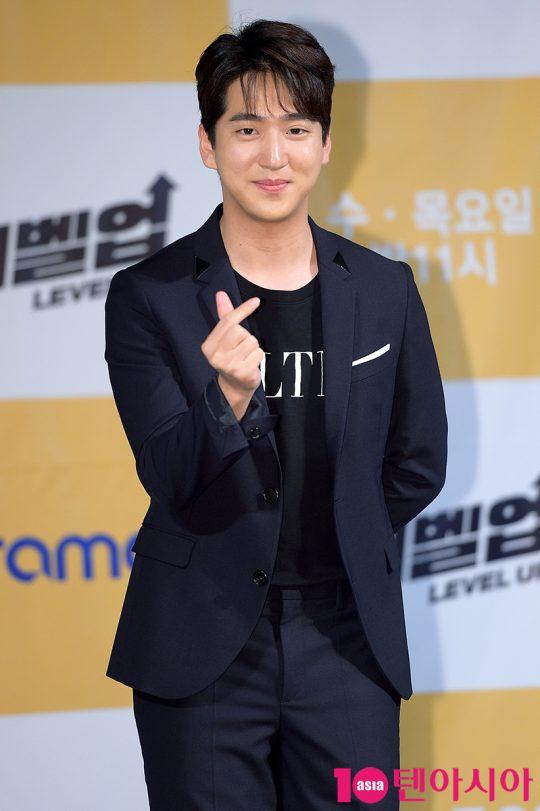 배우 차선우는 '레벨업'에서 유성CRC의 신입사원 곽한철을 맡았다./ 서예진 기자 yejin@